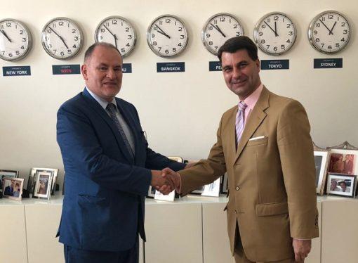 El Embajador Miguel Camilo Ruiz tomó posesión en Viena