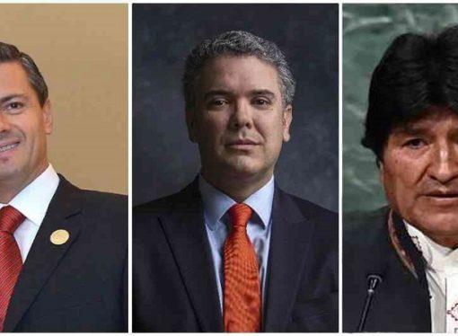 7 de agosto: Peña Nieto y Evo Morales, los invitados más reconocidos a la posesión de Duque
