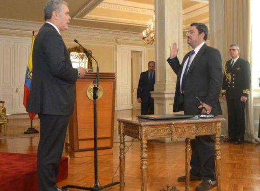 'Pacho' Santos asumió como embajador de Colombia en Estados Unidos