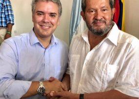 Agradecimiento presidencial con embajada a Angelino Garzón