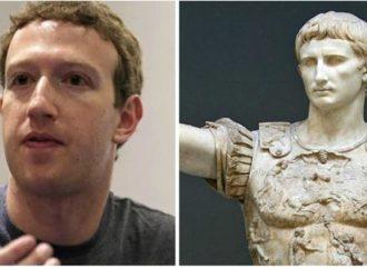 La obsesión del fundador de Facebook por el implacable Emperador que liquidó la República romana