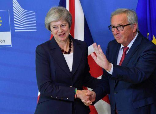 May acude a Bruselas para intentar evitar una ruptura brusca por el Brexit