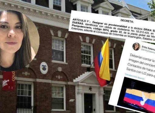 La defensora del uribismo que llega al consulado en Washington
