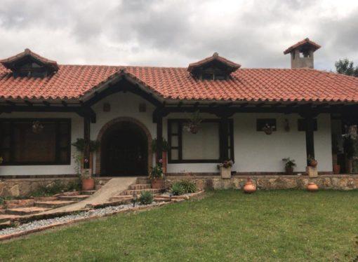 """Se alquila casa campestre """"El Horizonte"""" en Villa de Leyva"""