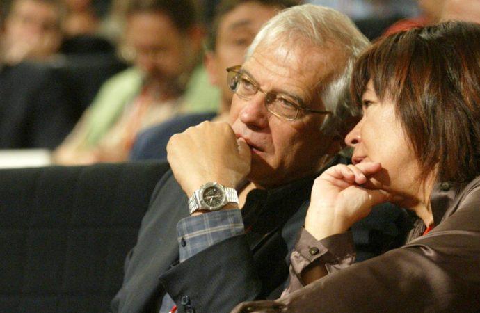 Josep Borrell y Cristina Narbona se casan en secreto