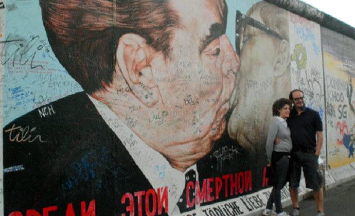 La East Side Gallery: un muro convertido en arte