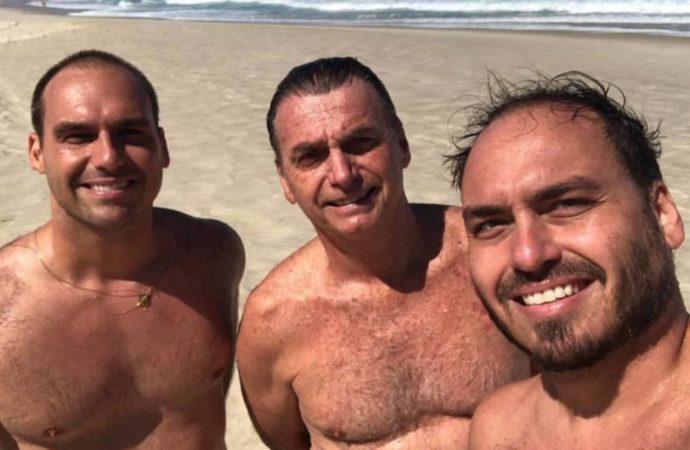 Brasil no se pierde ni un capítulo de los Bolsonaro, los Kardashian de la política