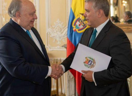 Ya es oficial: el embajador de Venezuela en Colombia es el de Guaidó